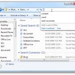 غیر فعال کردن تاریخچه جستجو ها در ویندوز 7