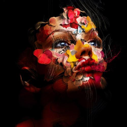 طرح رنگ زن گرافیک طراحی فوتوشاپ