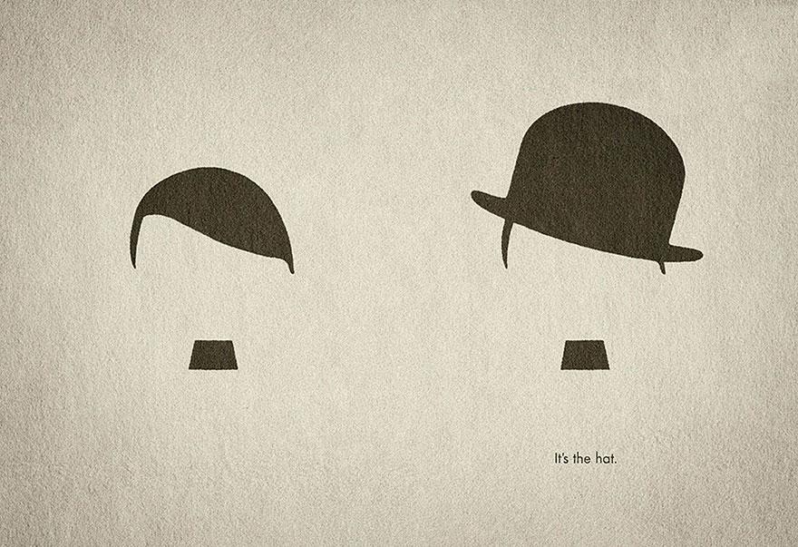 کلاه هیتلر چارلی چاپلین