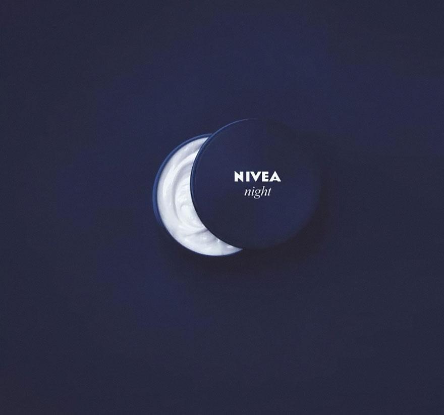 نیوه آ Nivea Night شب کرم ماه