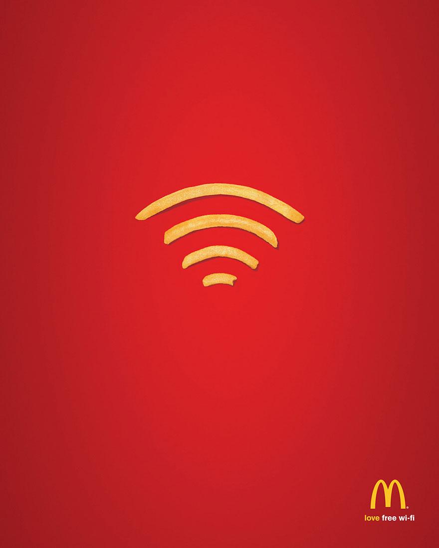 وای فای رستوران مک دونالد