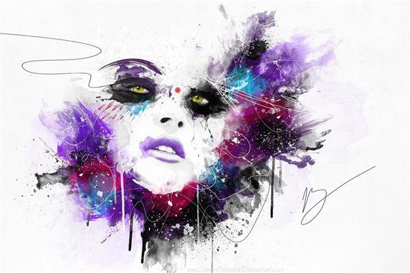 اثر هنری فتوشاپ فوتوشاپ گرافیک طراحی