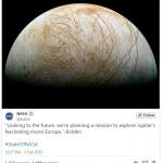 ناسا ماموریت اروپا را اعلام کرد