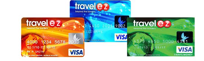 travel ez visa card ویزا کارت تراول ایزی