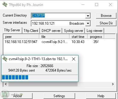 TFTP Cisco 7961G